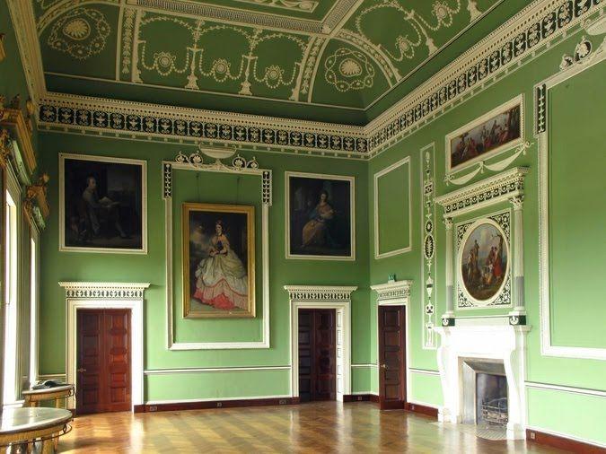 Interior design of central room