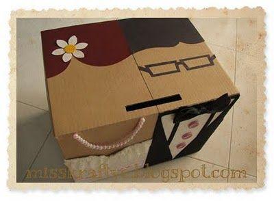 Miss Krafty E Ang Bao Boxes Classic Bride Groom Single Box Classic Brides Ang Bao Wedding Gift Boxes