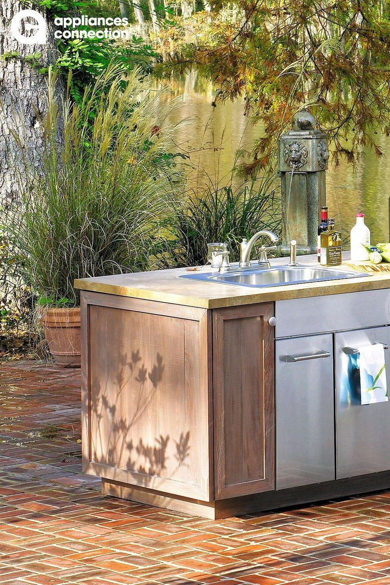 Viking 992660 4 309 00 Outdoor Gas Fireplace Outdoor Kitchen Design Kitchen Appliance Packages