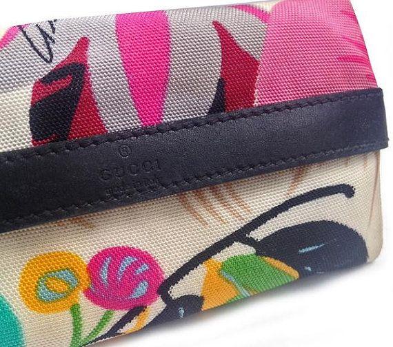 Gucci Tom Ford Flora Pocket Tissue Holder by VintageEmbellish