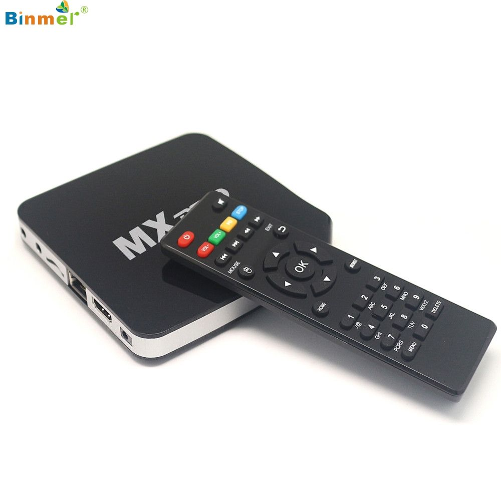 Hot!2017 New Android tv box black MX Pro Smart TV BOX