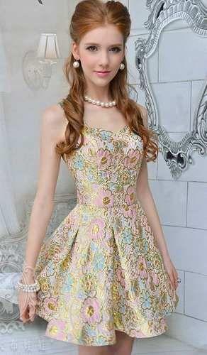 44917ba414 vestido princesa aniversário festa natal 15 anos noite lindo
