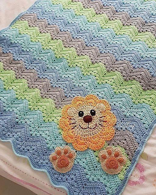 Ravelry Claudiatracys Xaviers Blanket Free Pattern Crochet Baby