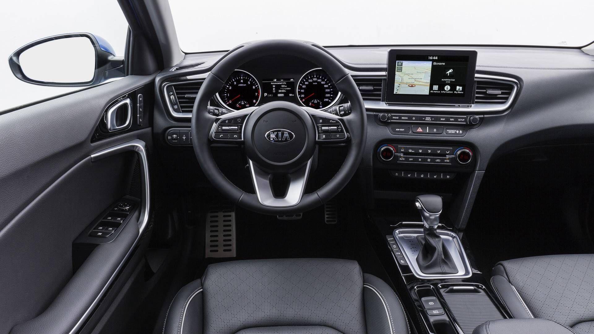 Kia Ceed 2018 Interior Kia Ceed Kia Steering Wheel
