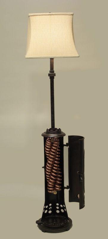 Water Heater Floor Lamp | Repurposed | Pinterest | Floor lamp ...