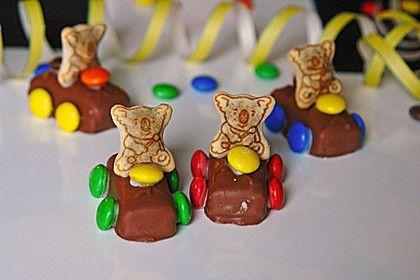 Schoko Auto Cute Food For Kids Kuchen Desserts Chocolate