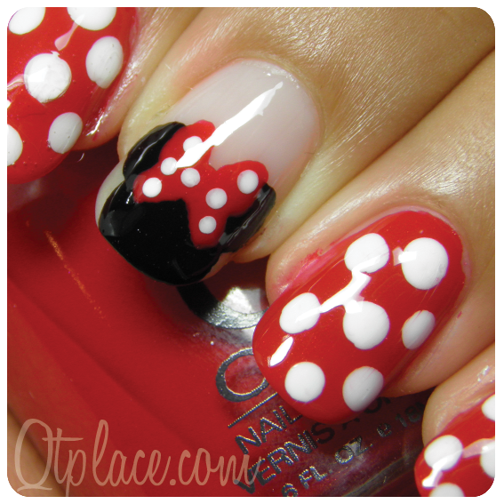 Minnie Mouse Nails: Best 25+ Mickey Mouse Nails Ideas On Pinterest