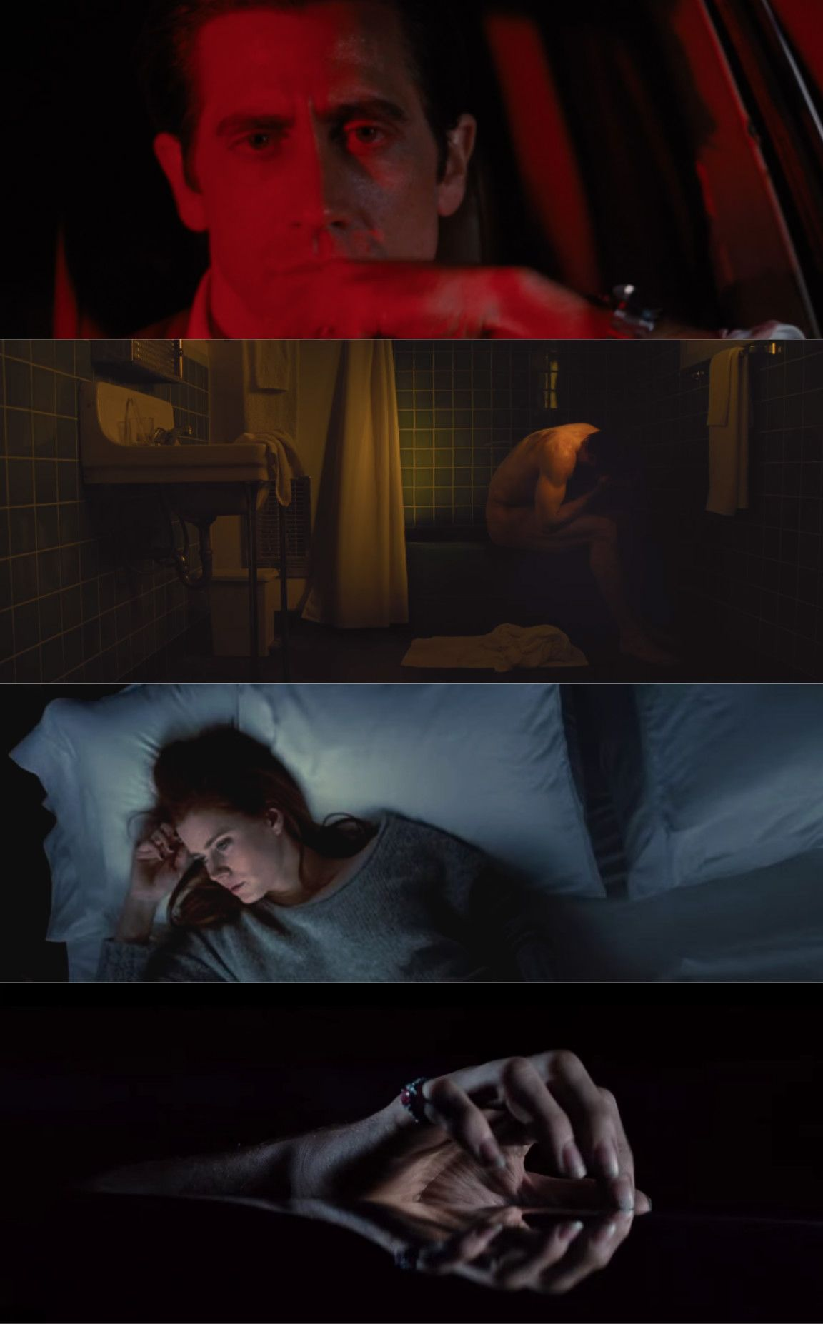 Nocturnal Animals / Coloring (2016), d. Tom Ford, d.p. Seamus McGarvey