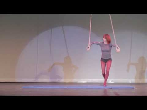 ▶ Althea at the Bay Area Circus Festival 2013 (Aerial Straps) - YouTube