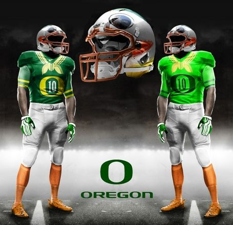 new concept 54a80 fd0ac OREGON Puddles the Duck Football Uniforms (Prototype ...