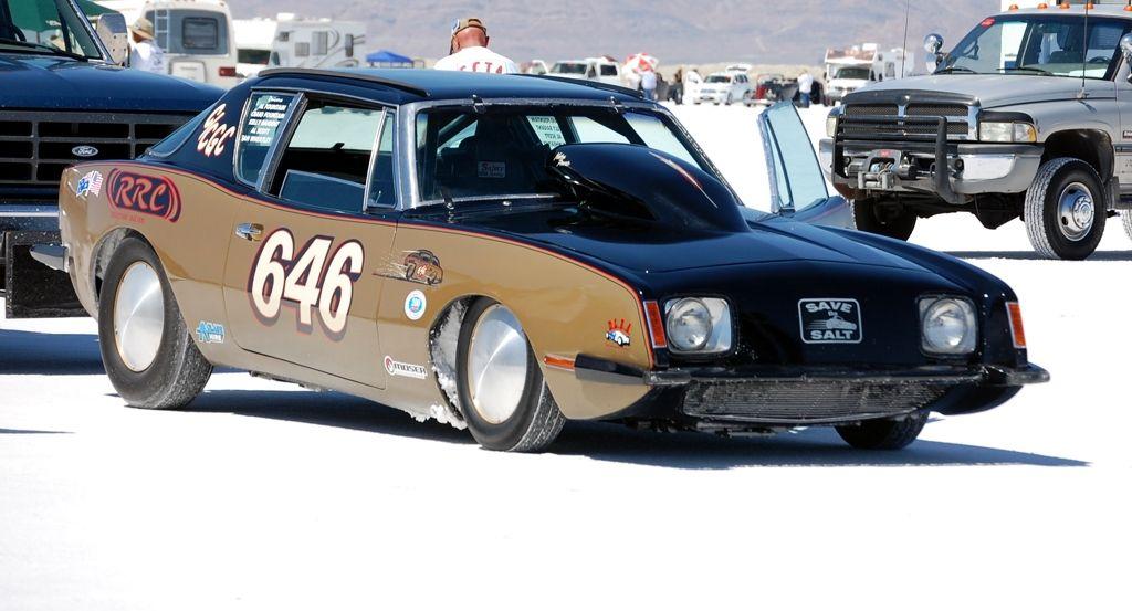 Studebaker Avanti Racecar 646 Bonneville Salt Flats Bonneville