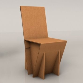 Crocus 45 Cardboard Chair For Project Cardboard Chair Diy