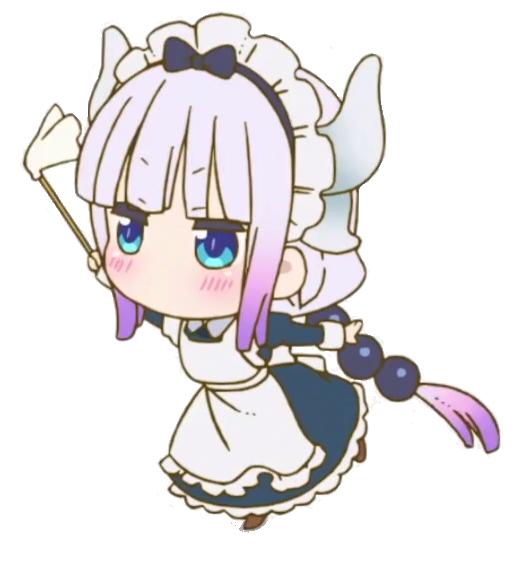 Absolute Dangan Trash Pure Child Miss Kobayashi S Dragon Maid Kobayashi San Chi No Maid Dragon Kawaii Anime