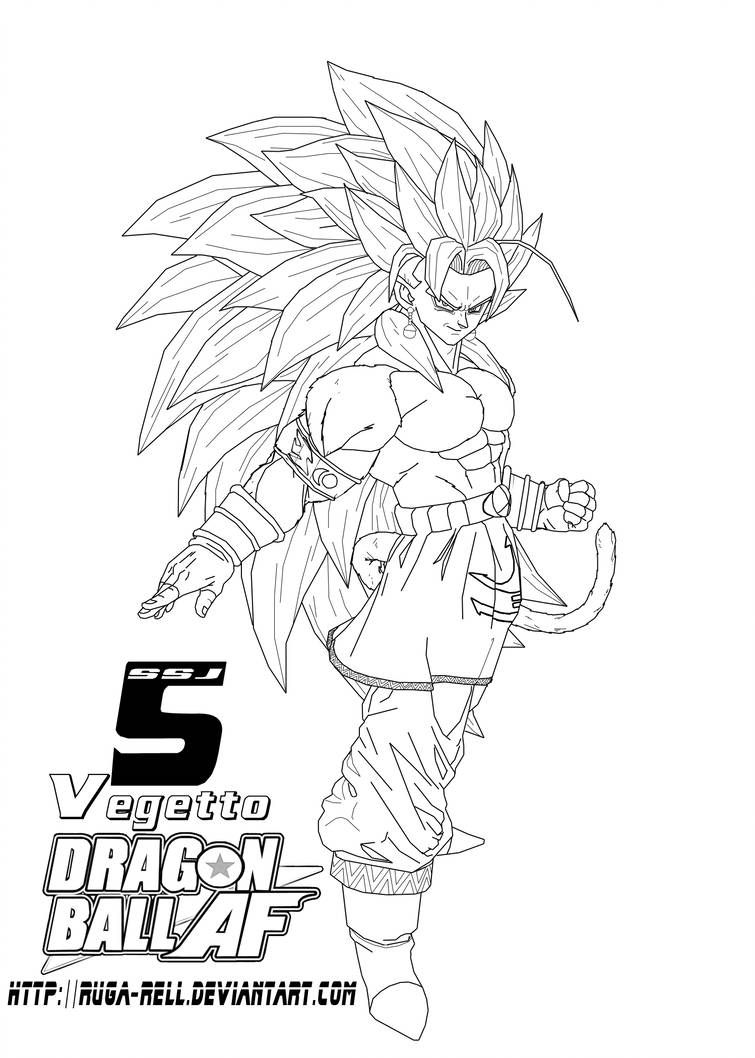 Ssj5 Vegetto By Ruga Rell Dragon Ball Artwork Anime Dragon Ball Super Dragon Ball Art