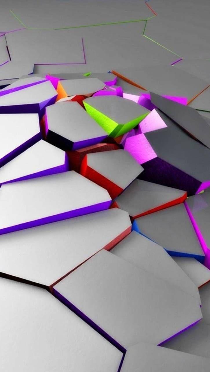 Neon cracks wallpaper by _lovey_ - 2b - Free on ZEDGE™