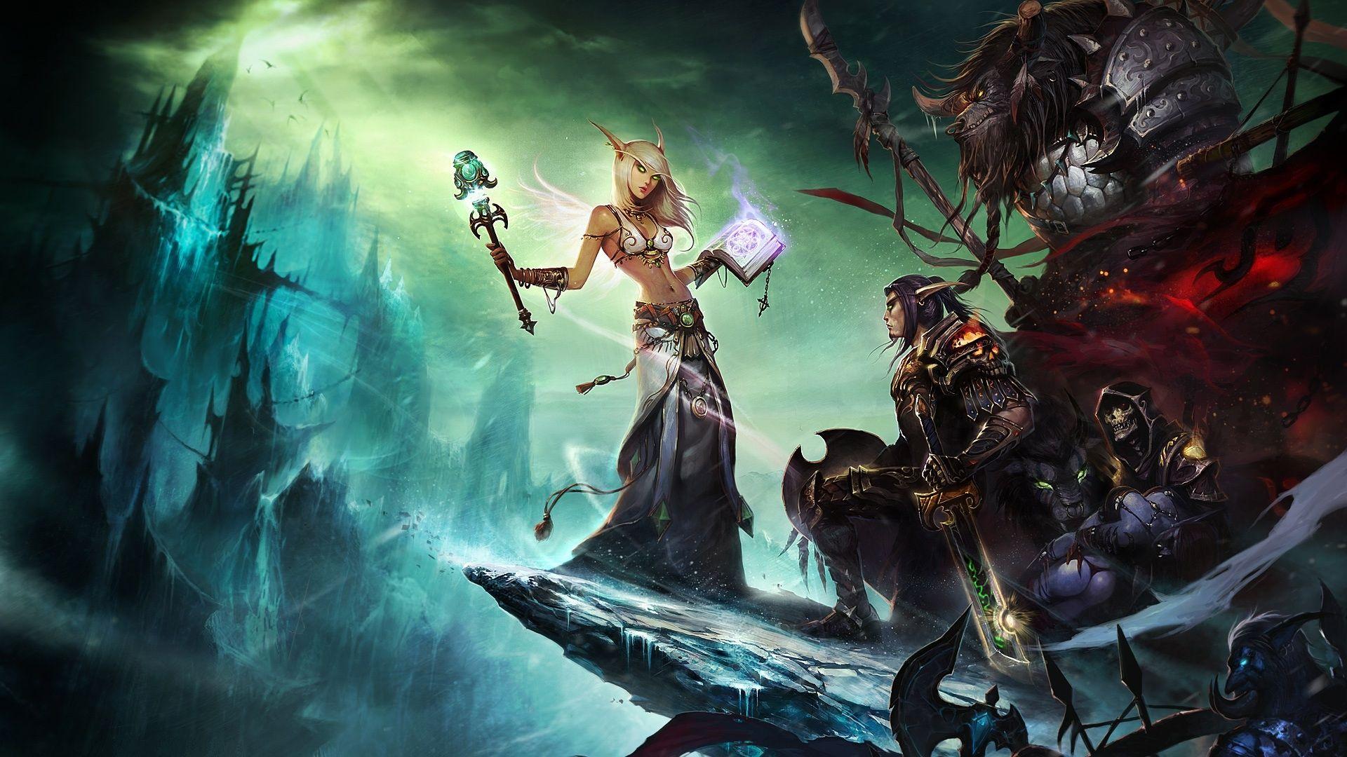 World Of Warcraft The Burning Crusade Hd Desktop Wallpaper