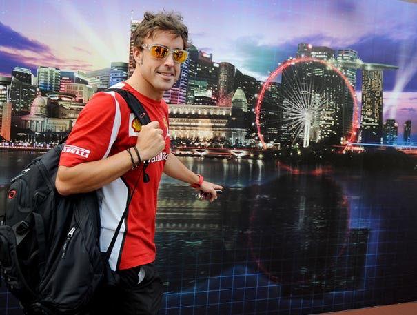 Fernando Alonso Singapore 2012