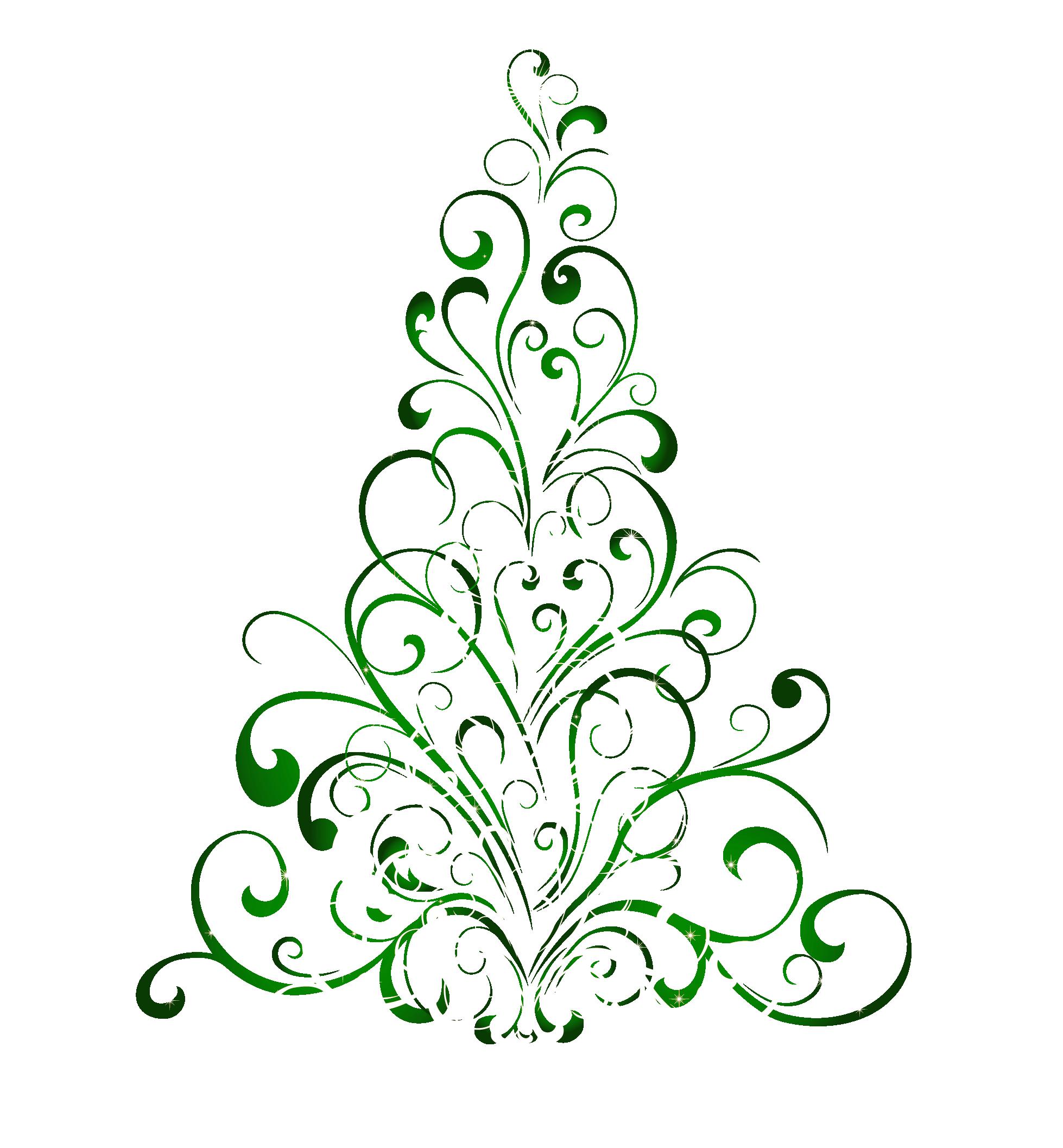Free christmas tree clipart public domain christmas clip