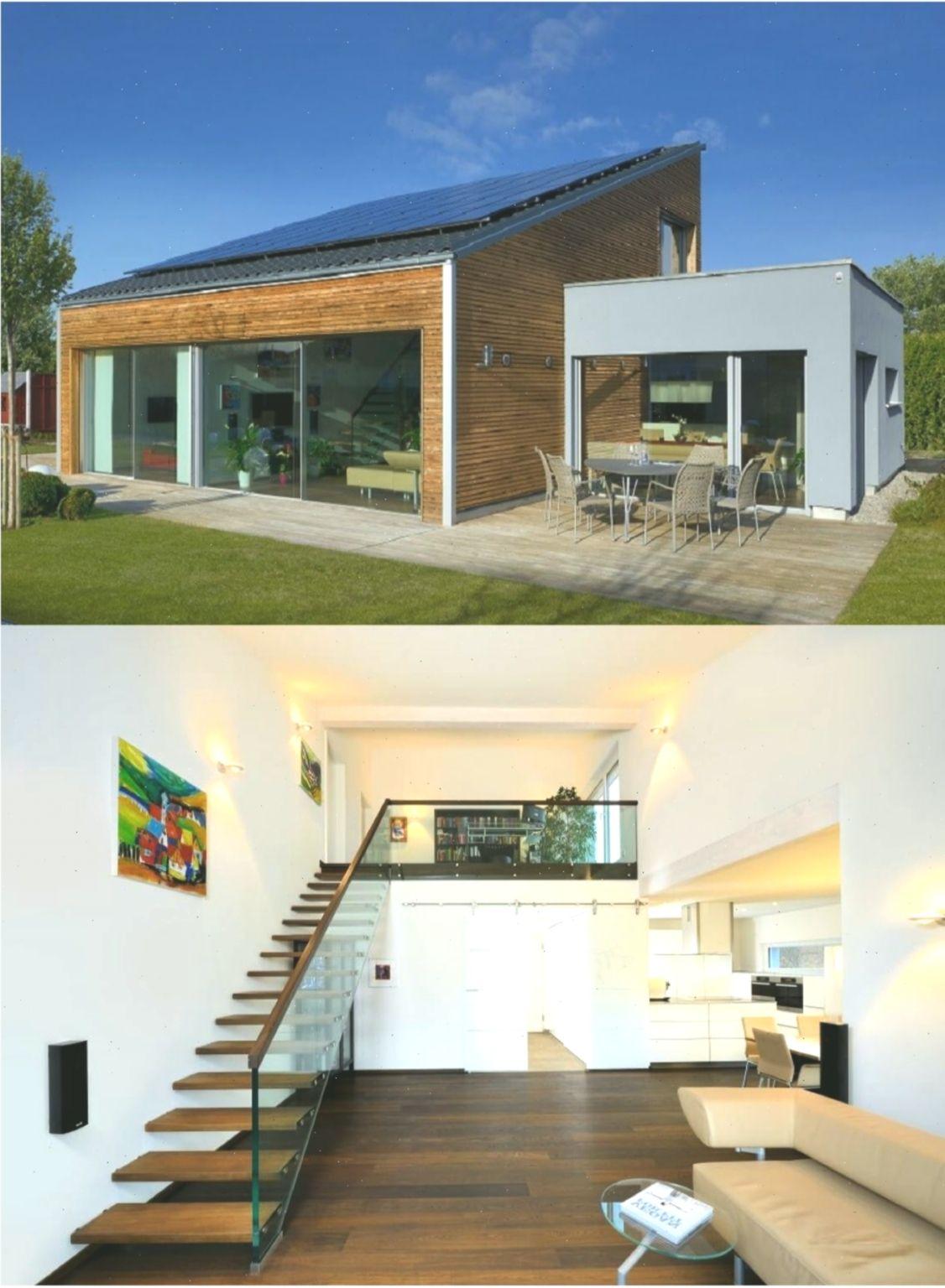 Bungalow Haus Ederer Baufritz Moderner Design Pultdach