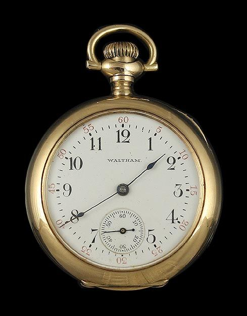 7b2a528cf Waltham Pocket Watch   The Keepers of Time   Pocket watch antique ...