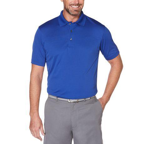 Ben Hogan Sleet Grey Short Sleeve Performance Polo