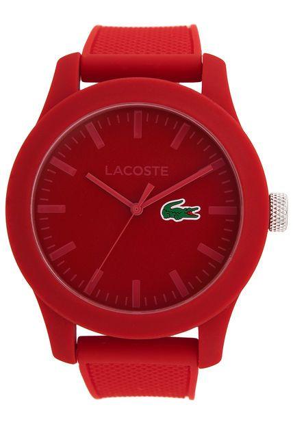 577e39f6e6da Reloj Rojo Lacoste de Lacoste en Dafiti