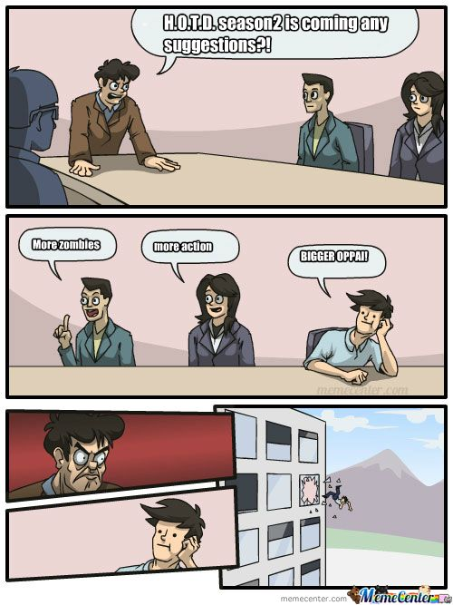Focus Of The Week High School Of The Dead Memes School Of The Dead Dead Memes Memes