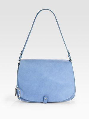 Simple and classic - Ralph Lauren Collection RL Large Saddle Shoulder Bag 352d3e740bfb3