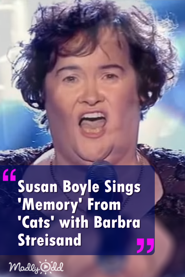 Susan Boyle Suddenly Walks in for a Surprise Duet to Sing