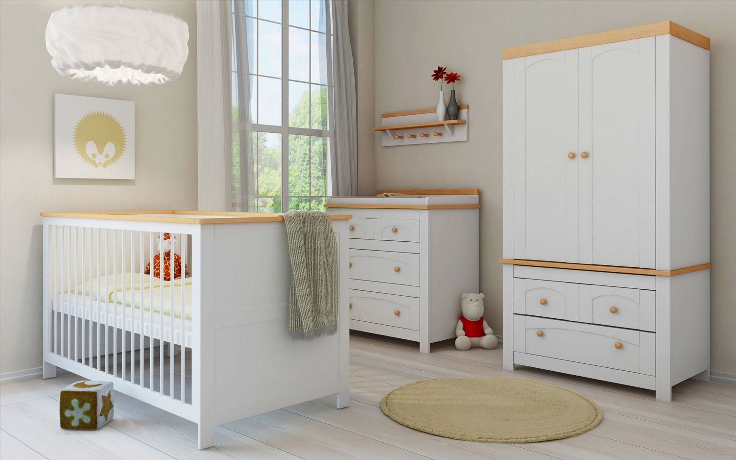 White Nursery Furniture Sets Uk