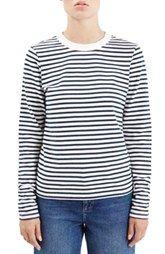 Topshop Boutique Stripe Long Sleeve Top
