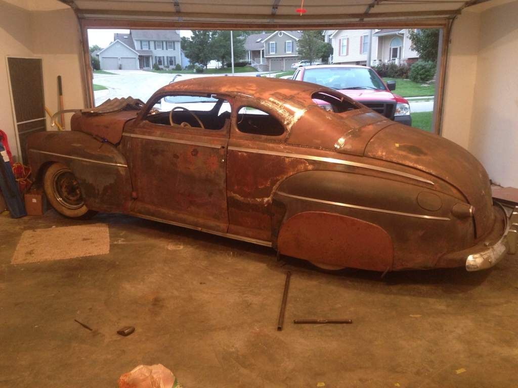 Flatout51 s in progress 1946 ford coupe