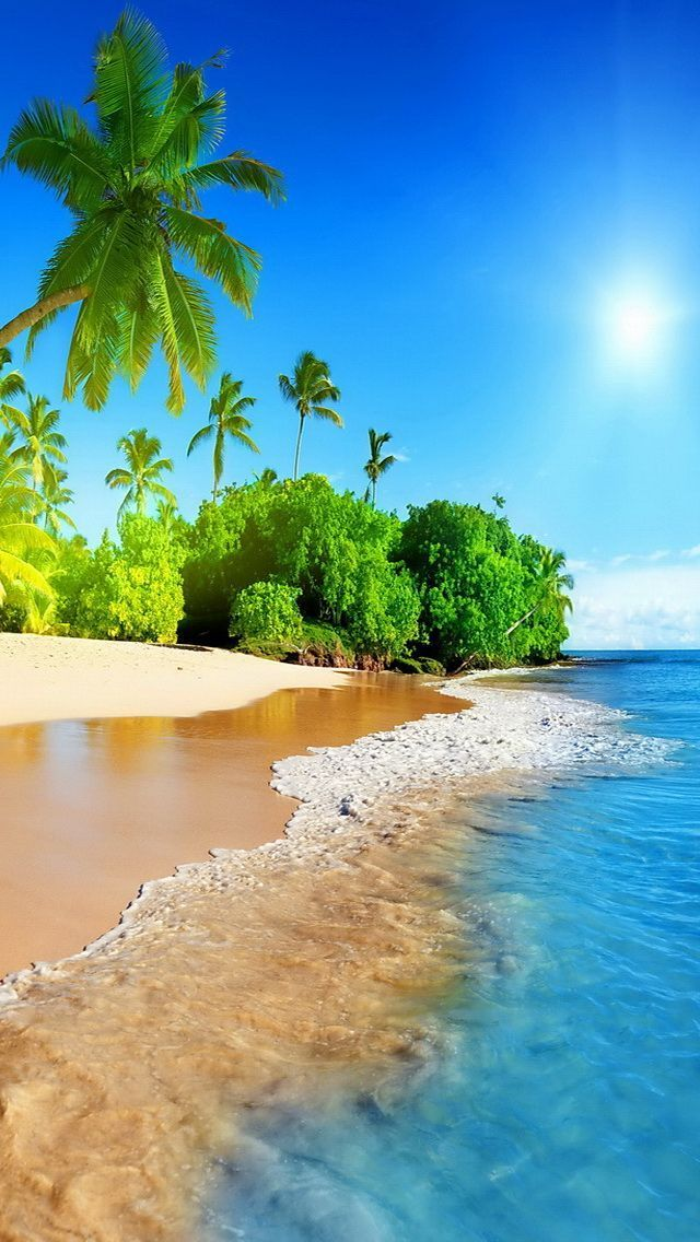 Beach Wallpaper For Iphone Or Android Tags Ocean Sea Backgrounds Mobile