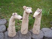 Keramik - 3 super coole Gartenratten - ein einzigartiges Produkt von connimeyer bei DaW ..., #be #co ..., #bei #connimeyer #coole #DaW #ein #einzigartiges #Gartenratten #Keramik #Produkt #Super #von