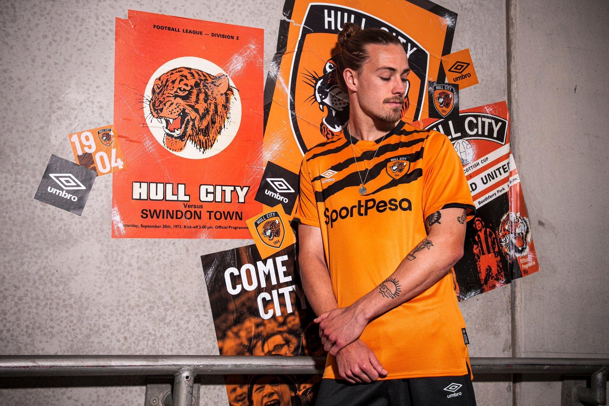 Hull City Afc 2019 2020 Home Kit Hull City Hull City