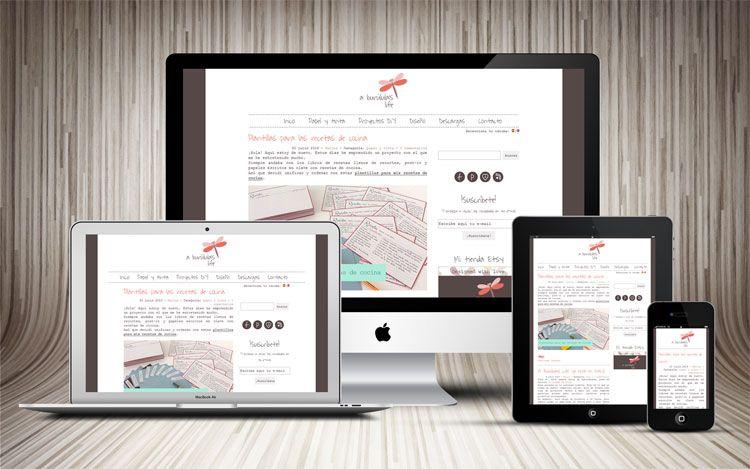 Diseño de la identidad corporativa y desarrollo del tema Wordpress ...