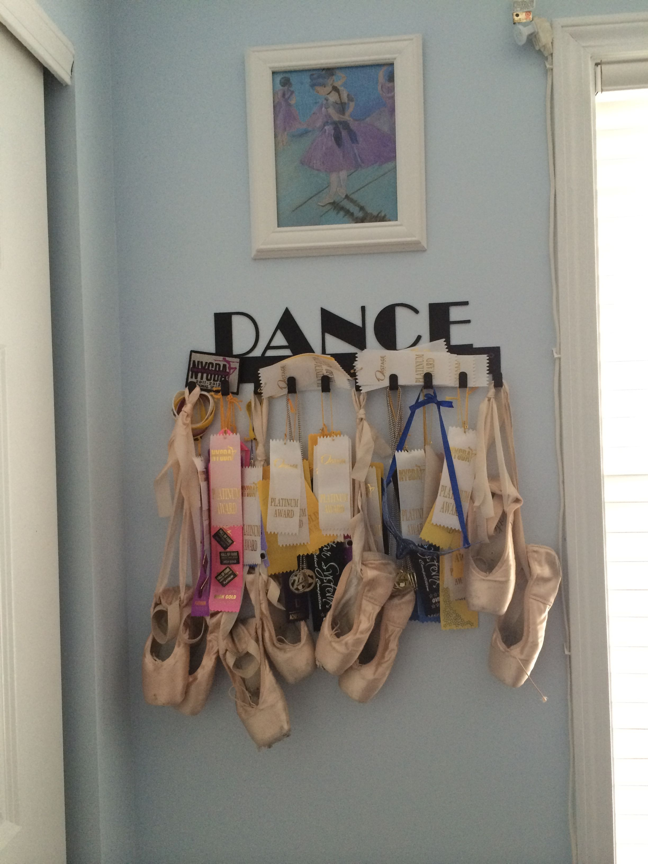 Dance Medal Display By Sporthooks Hang It Up