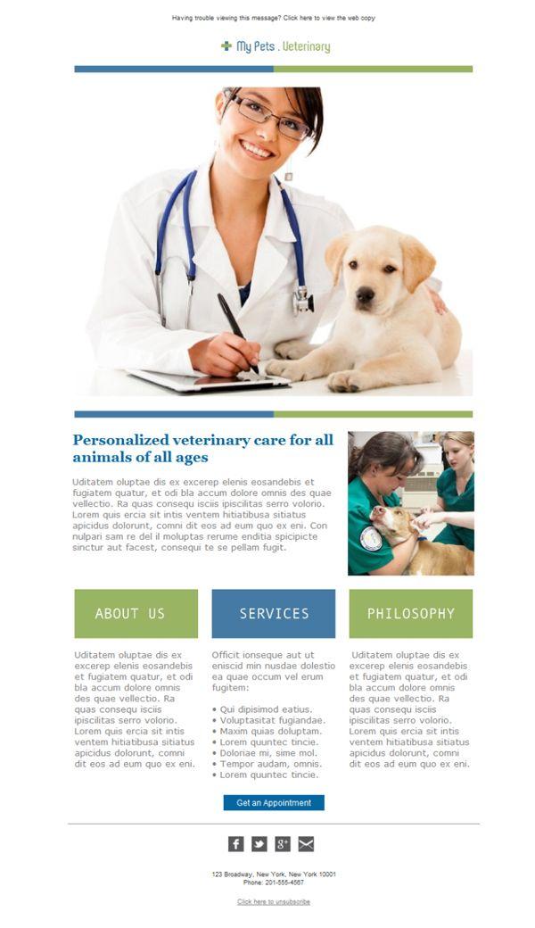 Image result for vet clinic email design Vet clinics