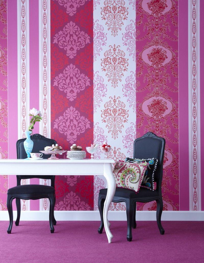 klicken f r gr ere ansicht tapeten pinterest tapeten gestreifte tapete und fototapete. Black Bedroom Furniture Sets. Home Design Ideas