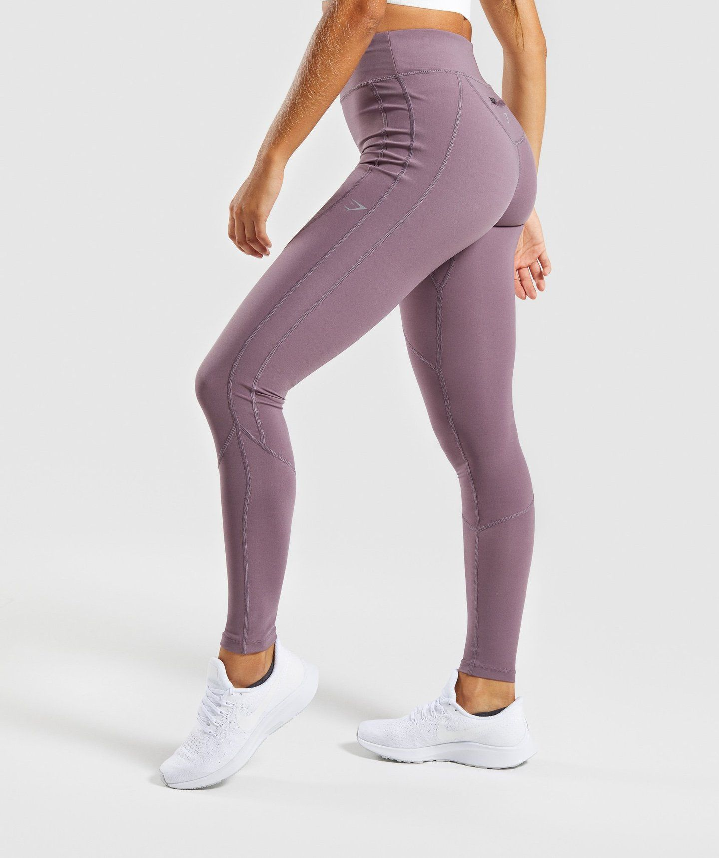 dd8dad83841c68 Gymshark Pace Running Leggings - Purple Wash | bottoms | Running ...