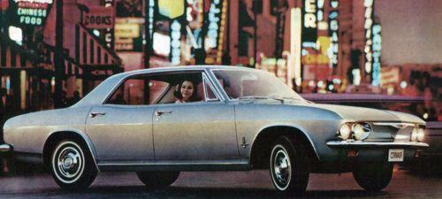 1965 corvair monza sedan
