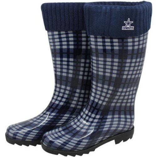 dallas cowboys rain boots women