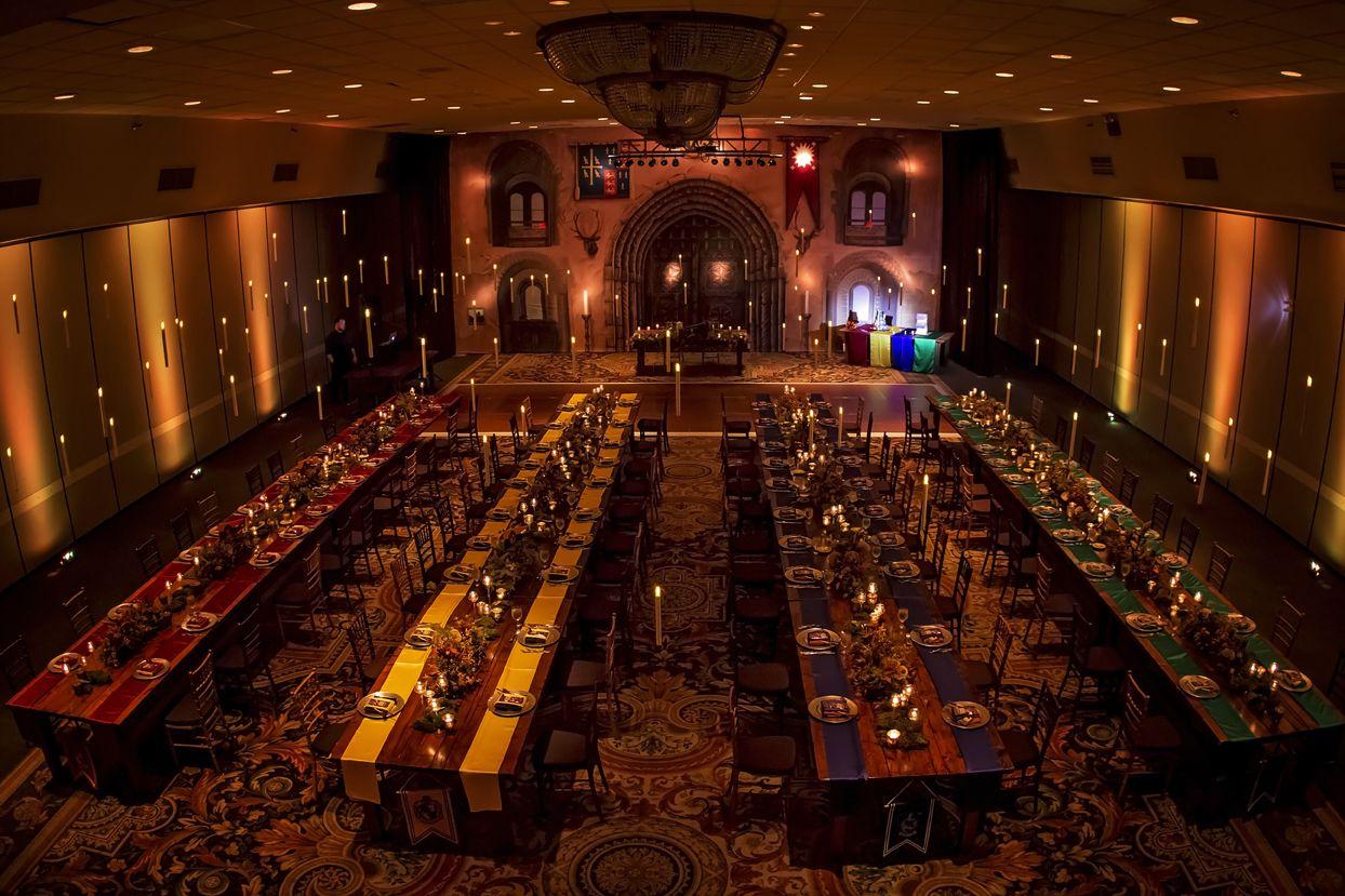 Harry Potter Wedding Great Hall