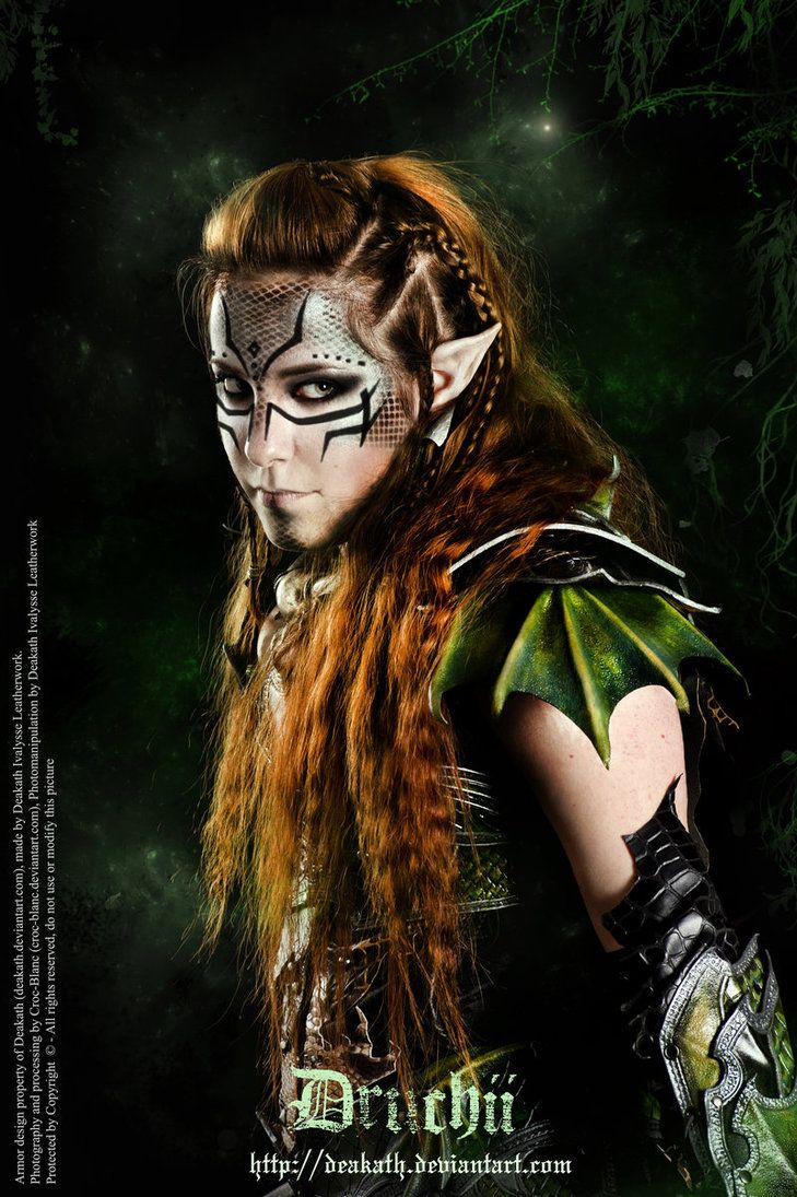 Druchii female armor by deakath on deviantart makeup pinterest