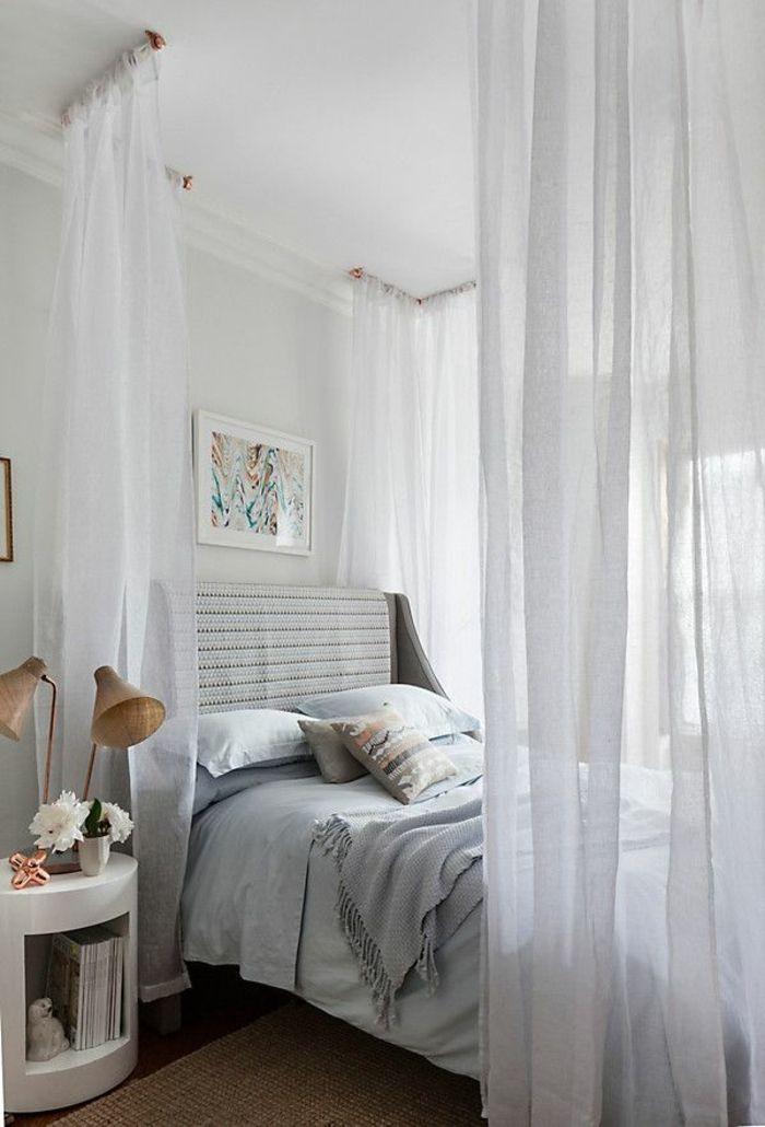 Schönes Bett gestalten: 40 tolle Ideen! | Weißes schlafzimmer ...