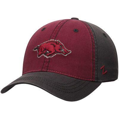 Arkansas Razorbacks Zephyr Cobalt Slouch Adjustable Hat - Charcoal