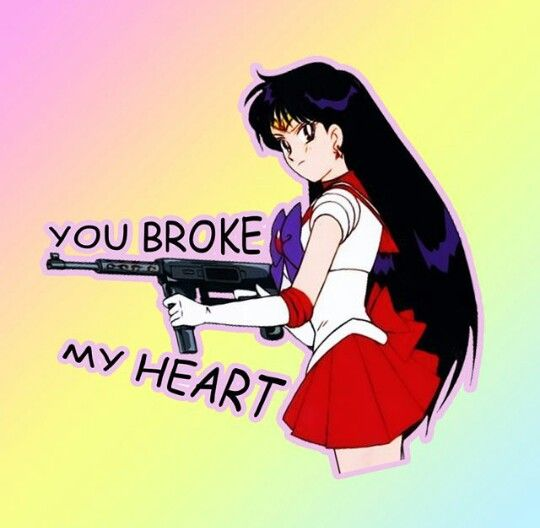 Pinterest: @mayshiine   You broke my heart, My heart is