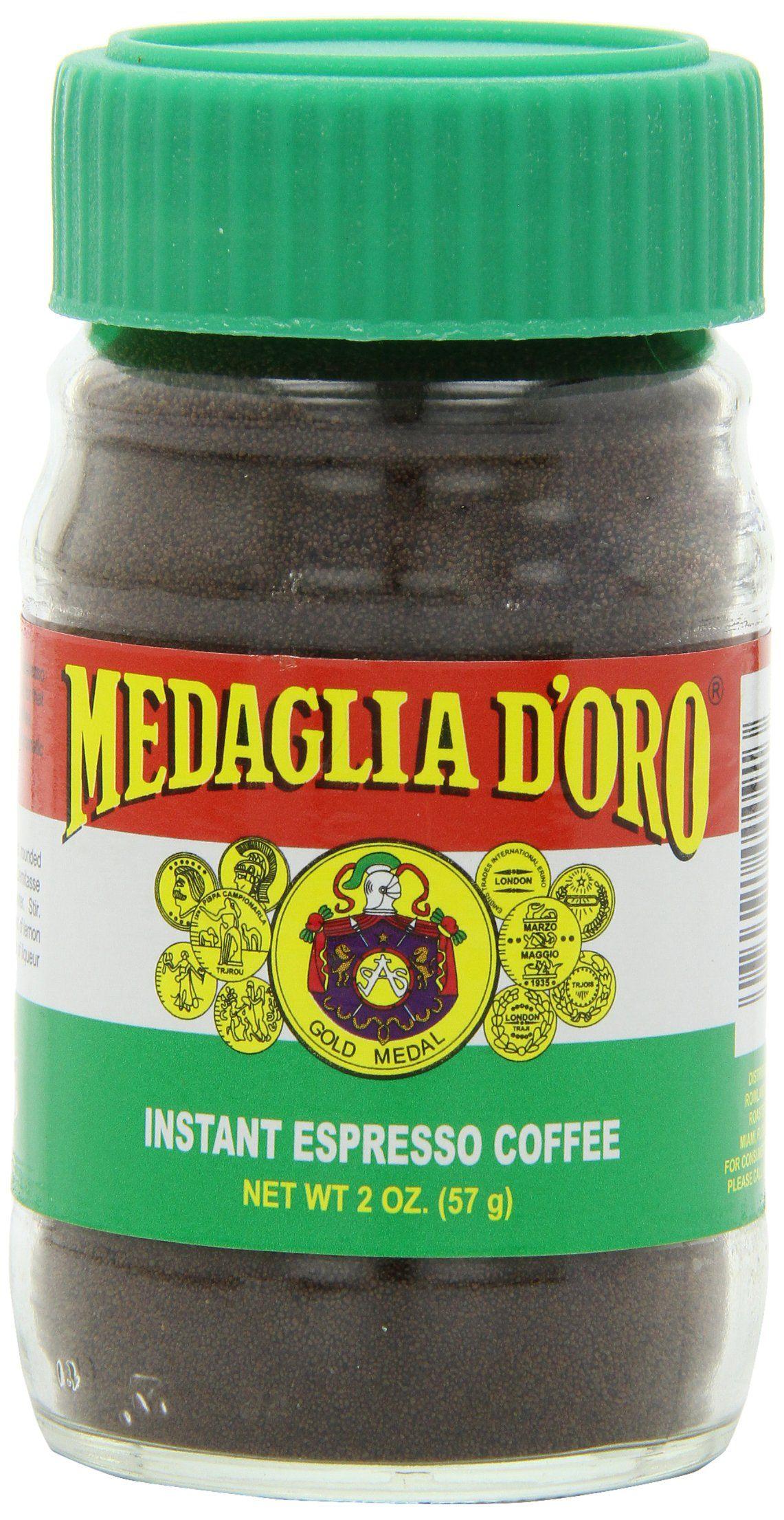 Medaglia doro instant espresso coffee 2 ounce pack of