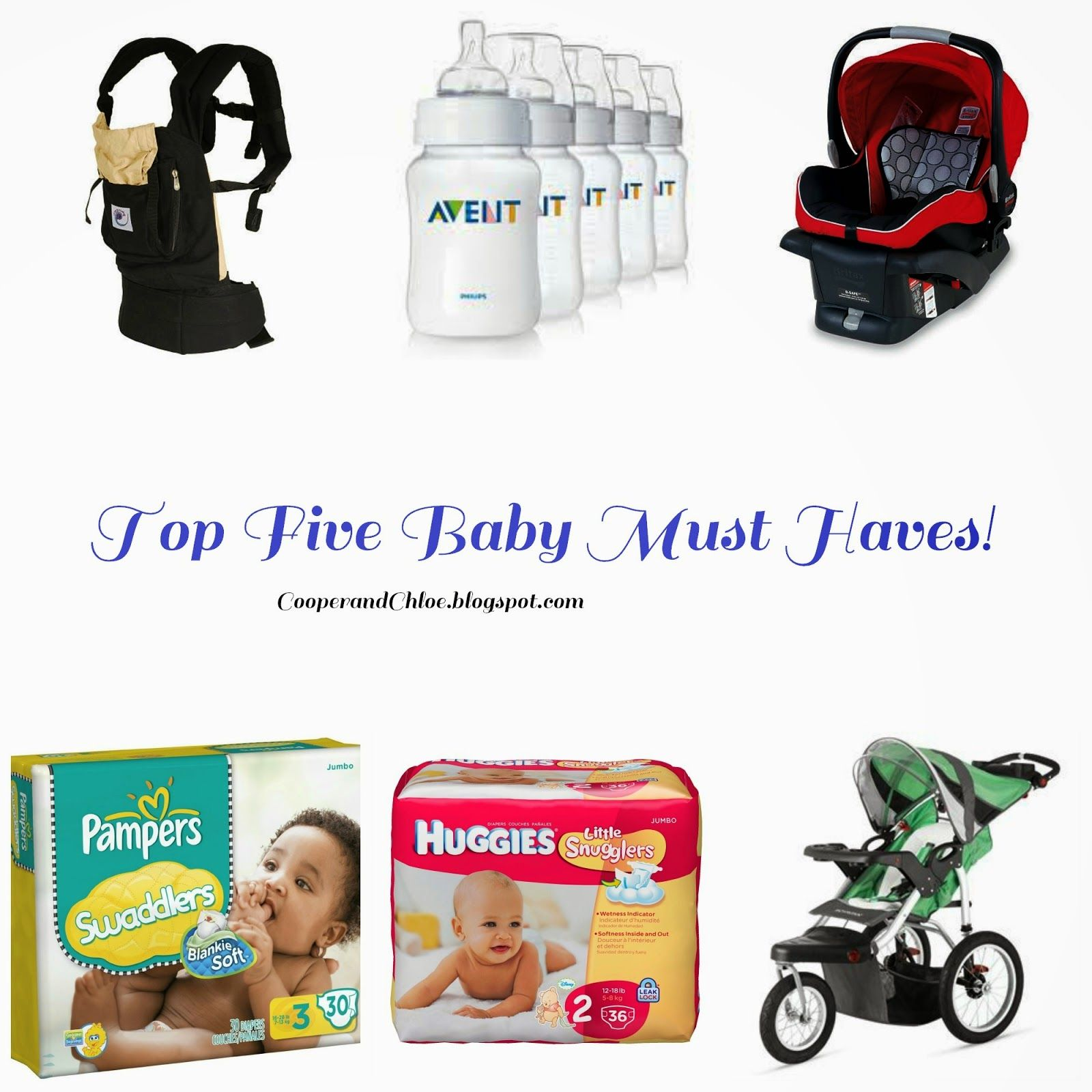 Top Five Baby Must Haves
