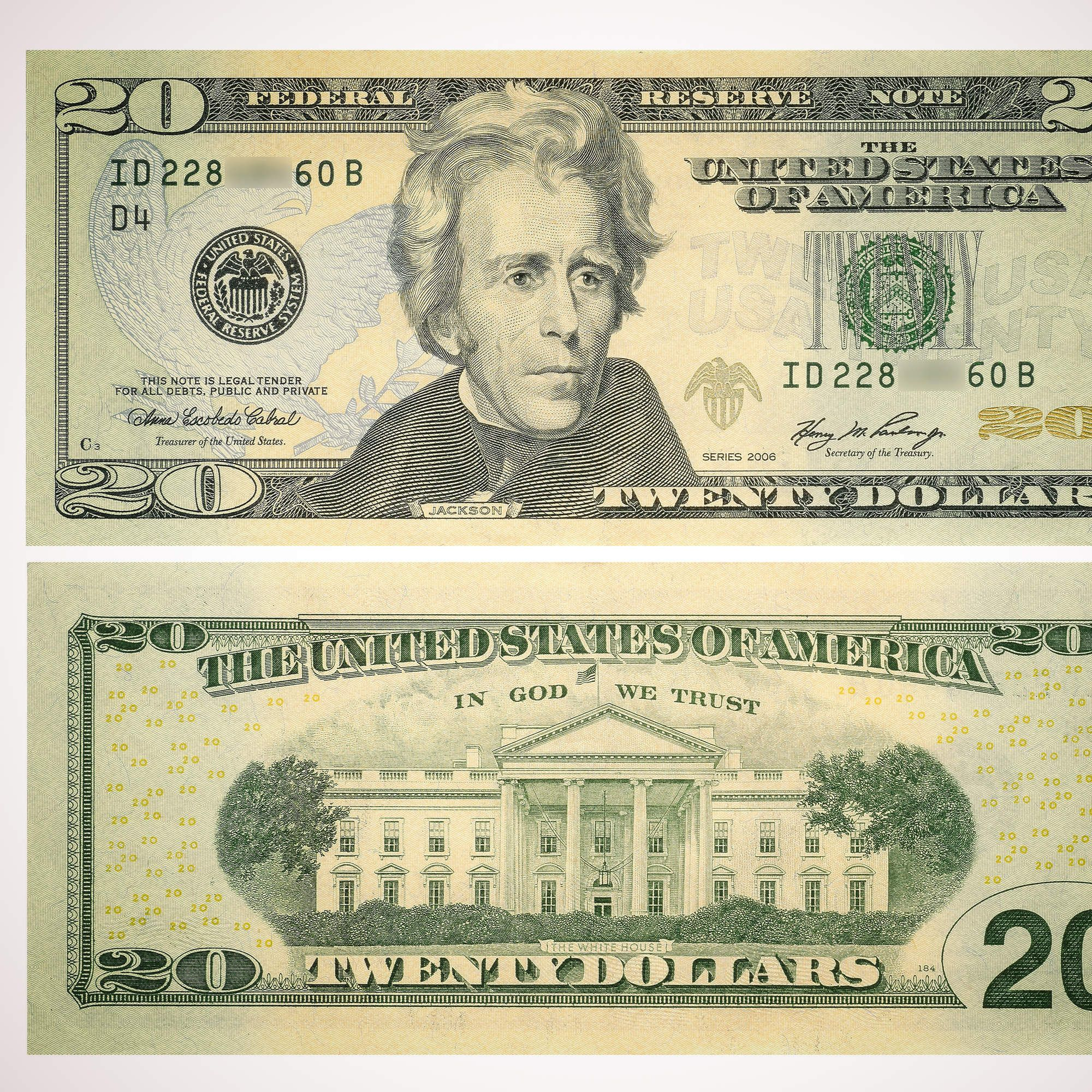 The 150 Year Graphic Evolution Of The 20 Bill In